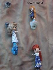 Aisha,Iani e Valentine escalando!!