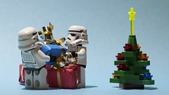 The christmas gifts - could be the droid by Kalexanderson, on Flickr