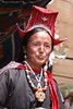 ladakhi woman (rongpuk) Tags: people woman india mountains festival women monastery donne himalaya tak ladakh gompa thok
