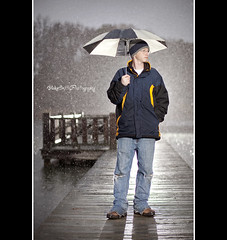Rainy Days (BlakeSmithPhotography) Tags: camera morning portrait wet rain self canon out fun paul photography this pretty all no or c einstein some 85mm smith it any equipment believe buff shooting much editing had straight f18 done blake heavy barely monolight strobes i not 5dmkii blakesmithphotography