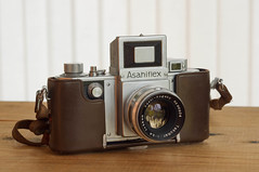 Asahiflex IIa with Takumar 2.4/58 (kuuan) Tags: