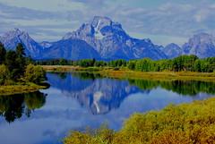 Grand Teton National Park (udbluehens) Tags: grandtetonnationalpark oxbowbend mtmoran