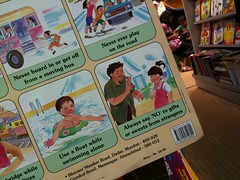 Safety Rules for Kids in India (Jennifer Kumar) Tags: india children poster bookstore kochi reliance 2011 safetytips oberonmall