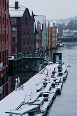 Nidelva river, Trondheim (AdamKR) Tags: christmas uk cruise norway circle sony north arctic alpha dslr nordnorge hurtigruten 2011 a550