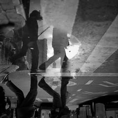 one final puddle for 2011... (Barry Yanowitz) Tags: nyc newyorkcity blackandwhite bw ny newyork reflection 6x6 film mediumformat reflections blackwhite chinatown kodak manhattan trix 120film d76 scanned gothamist filmcamera nycity selfdeveloped kodaktrix400 rolleicordv selfdeveloping d76developer