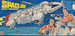 Space 1999 Eagle box front (WEBmikey) Tags: toys memories mattel space1999