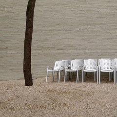 Gathering (w.eras) Tags: tree chairs kln explore gathering kolumba peterzumthor