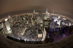 The big apple [explored] (Raf Ferreira) Tags: from new york nyc usa ex rock us angle top manhattan wide sigma fisheye f 28 rafael 15mm estados unidos ferreira peixoto