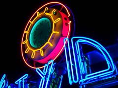 Fog City Neon 2 (tobysx70) Tags: california ca city toby clock sign fog night digital canon restaurant san francisco neon nocturnal diner powershot illuminated dont worry lit hancock s90 canonpowershots90 canons90 tobyhancock