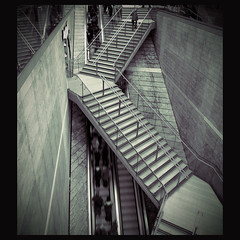 the climb (fotobananas) Tags: urban retail architecture stairs liverpool shopping concrete climb escalator center canyon upstairs shoppingmall downstairs rolltreppe shoptillyoudrop liverpoolone glassandsteal fotobananas betonschlucht