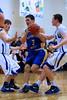 12-01 Bsktbll - Whitinsville Christian School Crusaders vs Hopedale Blue Raiders -  499