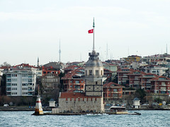 Kz Kulesi (CyberMacs) Tags: sea lighthouse building tower turkey other trkiye places istanbul trkorszg ottoman deniz strait bosphorus leuchtturm boaz constantinople byzantium maidenstower bosporus kule kzkulesi denizfeneri leanderstower mdchenturm leanderturm vilgttorony bysans towerofleandros lnytorony szztornya othernames