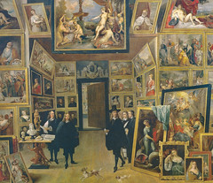 David Teniers - The Archduke Leopold Wilhelm in his Picture Gallery in Brussels, 1651 at Prado Museum Madrid Spain (mbell1975) Tags: madrid brussels espaa david art museum del painting spain gallery fine arts picture musee espana his prado museo nacional teniers wilhelm the leopold archduke madrd 1651