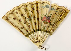 44. Antique Painted Fan