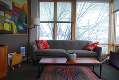 Living Room Landscape:  Chole, East 14th and Union, Seattle WA