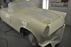 """1957 Ford Thunderbird E Code Dual Quad 312 • <a style=""""font-size:0.8em;"""" href=""""http://www.flickr.com/photos/85572005@N00/6703436153/"""" target=""""_blank"""">View on Flickr</a>"""