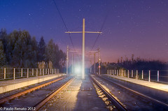 Make sure it is not the light of a locomotive! (P. Renato) Tags: light luz nightshot