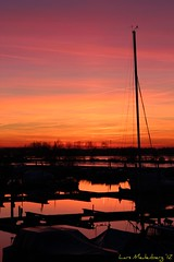 Spectacular sunset (LPMeulenberg) Tags: sunset sky sun holland netherlands dutch zonsondergang colours soe roermond limburg flickraward flickrestrellas mygearandme zonsondergang16jan12