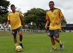 Leandrinho e Pedro Castro (Santos Futebol Clube) Tags: carlos pedro castro e paulo são copa treino júnior leandrinho