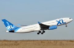 F-GRSQ CDG 160112 (airlines470) Tags: msn airways xl a330 cdg 501 a330200 a330243 fgrsq