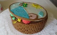 Ponque decorado con modelo de costurero (PaulitasArteyAzucar) Tags: tortas paulitas ponques