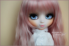 Little Umeboshi  (-Poison Girl-) Tags: pink girl eyes doll pretty dolls waves eyelashes peach fringe lolita wig cheeks groove pullip poison bangs custom angelic pullips collaboration poisongirl umeboshi angelicpretty eyechips junplanning rewigged rechipped prupate pullipprupate