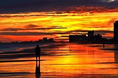 The colors of the sun (Darren-) Tags: ocean sunset sea usa beach myrtlebeach nikon north southcarolina atlantic d5100 ringexcellence blinkagain