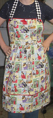 Dysfunctional family apron 1 (Embracing Entropy) Tags: sewing apron projects imadethis michaelmillerfabric