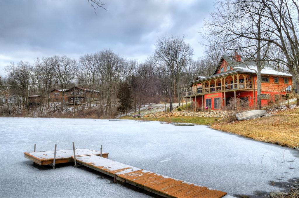 Frozen Spring Lakeshore