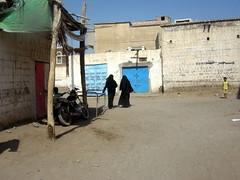 Ladys in Zebid street, Yemen (giolovesindia) Tags: veiled hijab niqab suq chador