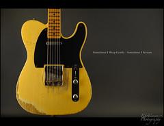 A Cure for My Blues - Fender Custom Shop 53 Telecaster Heavy Relic (REVivero) Tags: nikon guitar fender telecaster d3s 8514g