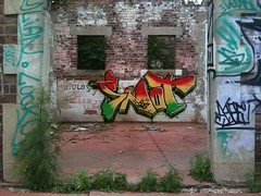 Just a piece to take up time. (Snot420) Tags: abandoned southafrica graffiti weekend south 45 snot bombing spraycan graffiiti boksburg snotbomb