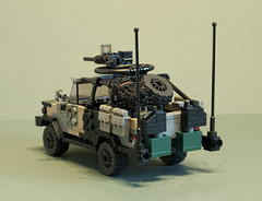 "C404 ""Black Dog"" (3) (Aleksander Stein) Tags: light storm volvo lego military special vehicle operations purpose patrol multi commando iveco wolfhound sentry armoured tactical ndc rws c404 m226 ampv"