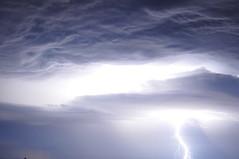 Bright Lightning (lisa marie donahoo) Tags: sky storm weather clouds nikon lightning d5000 lisamariedonahoo