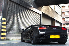 The Dark Side. (Alex Penfold) Tags: auto camera black london cars alex sports car sport mobile canon photography eos photo cool flickr shoot photoshoot image awesome flash picture super spot exotic photograph lp spotted hyper lamborghini supercar spotting exotica gallardo sportscar 2012 sportscars supercars lambo penfold 560 spotter hypercar 60d hypercars lp560 alexpenfold