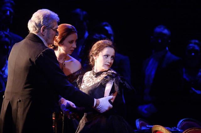 Bernarda Bobro as Violetta in La traviata © Catherine Ashmore/ROH 2012