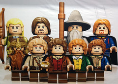 The Fellowship of the Ring (G g) Tags: official sam lego lord ring lotr rings gandalf lordoftherings aragorn merry took pippin frodo baggins fellowship boromir samwise legolas peregrin thefellowshipofthering gamgee meriadoc brandybuck legolordoftherings legolotr lotrlego
