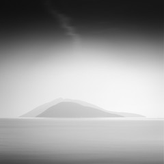 The islands (c e d e r) Tags: ocean sky bw white black art water clouds canon square landscape island photography eos fine aegean monochromatic full greece jens frame fullframe