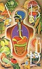 Alphabet Food (Wires In The Walls) Tags: illustration vintage body health human medicine 1960s 1964 encyclopedia digestion doubleday codliveroil foodgroups