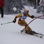 Teck Enquist Slalom, January 2012, Mt. Seymour - Esme McTavish (WMSC) PHOTO CREDIT: Steve Fleckenstein