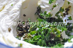 Mousse di robiola alle erbe