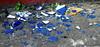 Regrettable (Dirk Lambrichts) Tags: blue glass blauw shards glas scherven doel ghostvillage spookdorp