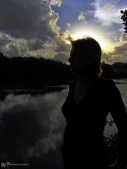 Ana por mim 12 // Ana by me 12 (fcribari) Tags: sunset prdosol riocapibaribe