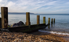 Sea Groins (StevieC-Photography) Tags: travel holiday seascape water canon coast groins steviec
