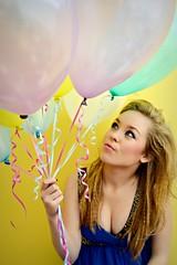 Portrait 6 (jadekinder) Tags: birthday blue party colour green make up yellow photography photo model shoot colours dress purple mail jessica pastel kinder lilac jade photograph jess ribbon frock