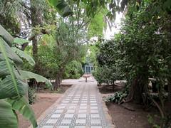 Fruit garden. (Linda DV) Tags: africa travel canon geotagged morocco maroc atlas marrakech marrakesh highatlas 2011 bahiapalace almarib  lindadevolder  powershotsx30 ochrecity