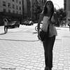 You are somebody / Eres alguien (Claudio.Ar) Tags: street city bw woman topf25 argentina buenosaires candid sony ciudad dsc h9 claudioar claudiomufarrege