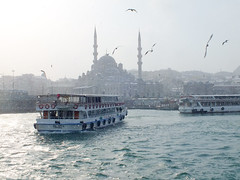 Istanbul in Winter (CyberMacs) Tags: winter sea snow nature weather ferry turkey season boat other ship minaret muslim islam religion transport places istanbul mosque ottoman cami deniz vapur istambul islamic ottomanarchitecture constantinople camii gemi eminn yenicami architecturalstyle othernames