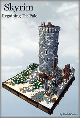 Skyrim: Regaining The Pale (- Derfel Cadarn -) Tags: snow tower castle lego vikings mage nord skyrim