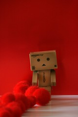 Sometimes holidays make you feel more alone... (The Dolly Mama) Tags: holiday dan toys figure lonely valentinesday danbo lonlieness danboard